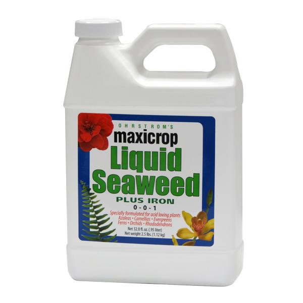 Maxicrop® Liquid Seaweed Plus Iron, 0-0-1 + 2% Iron