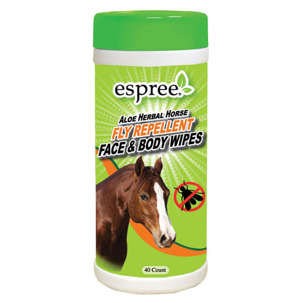Espree® Aloe Herbal Horse Wipes
