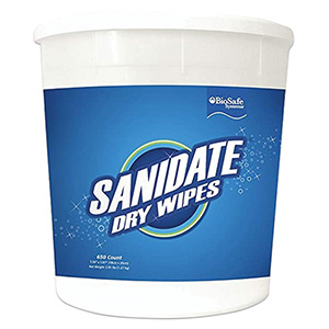 SaniDate® Dry Wipes