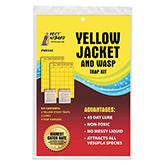 Yellow Jacket & Wasp Trap Kit - 2 Traps/Lures