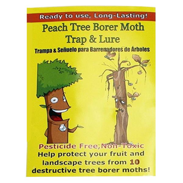 Peach Tree Borer Moth Trap & Lure - 2 Traps/Lures