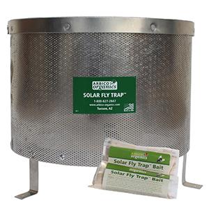ARBICO Organics® Solar Fly Trap - 1 Trap & 1 FREE Bait