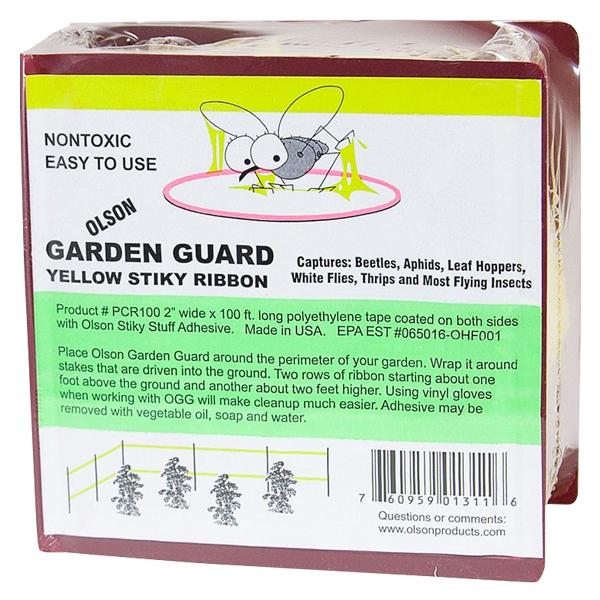 Olson Garden Guard Yellow Stiky Ribbon