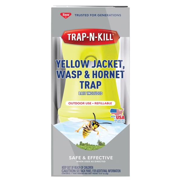 Enoz® Trap-N-Kill® Yellow Jacket, Wasp & Hornet Trap