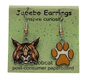 Bobcat Jabebo Earrings