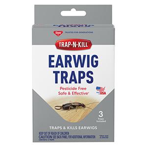 Enoz® Trap-N-Kill® Earwig Traps - 3 Pk