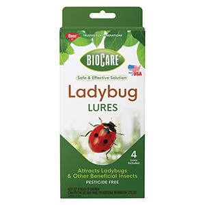 Enoz® BioCare® Ladybug Lures - 4 Pk