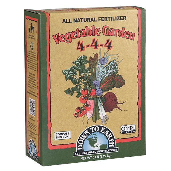 DTE™ Vegetable Garden 4-4-4, 5 lbs