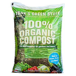 Tank's 100% Organic Compost - 1 Cubic Foot