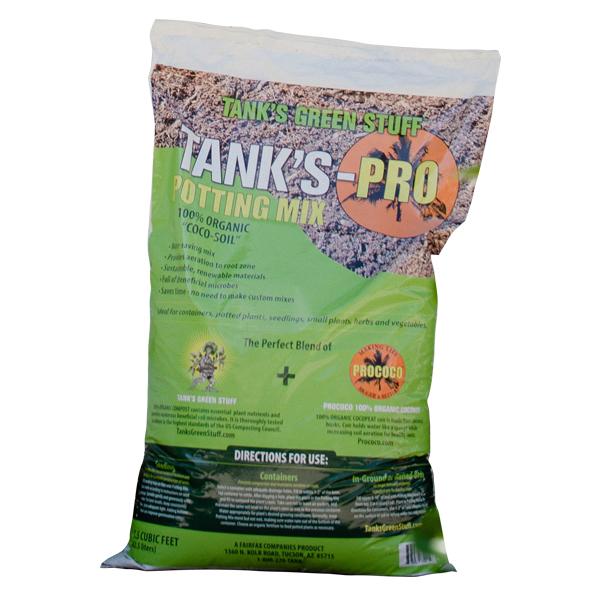 Tank's Pro Coco-Soil Potting Mix - 1.5 Cubic Feet
