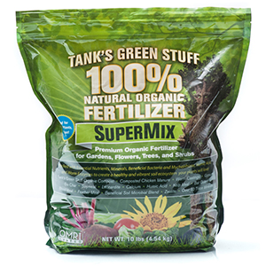 Tank's SuperMix Organic Fertilizer, 2-2-1 – 10 lb. bag
