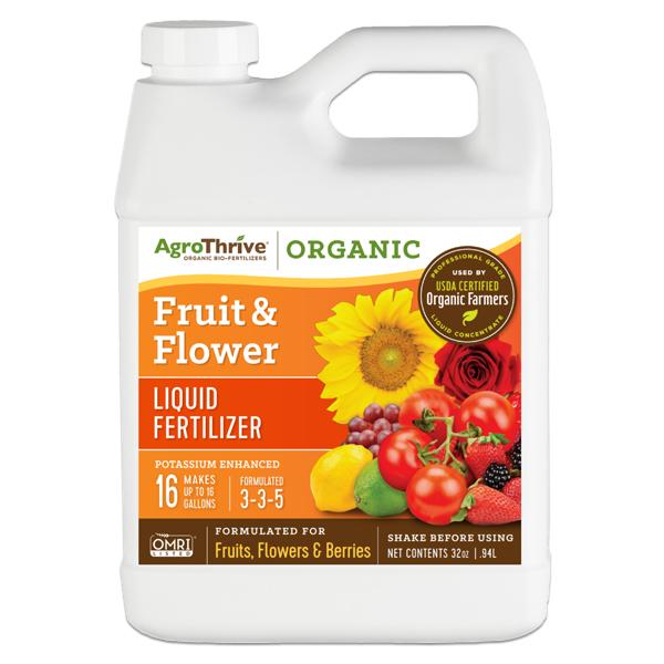 AgroThrive™ Fruiting & Flowering Fertilizer, 3-3-5