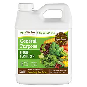 AgroThrive™ General Purpose Fertilizer, 3-3-2
