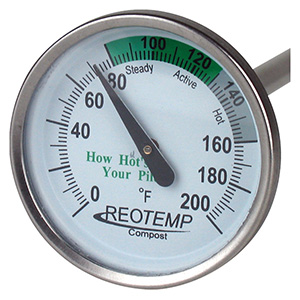 """REOTEMP® Compost Thermometer 20"""""""