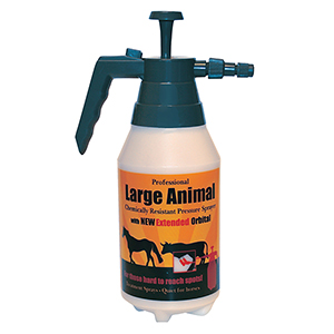 Delta Large Animal Sprayer w/ Extended Dual Orbital Nozzle - 48 oz