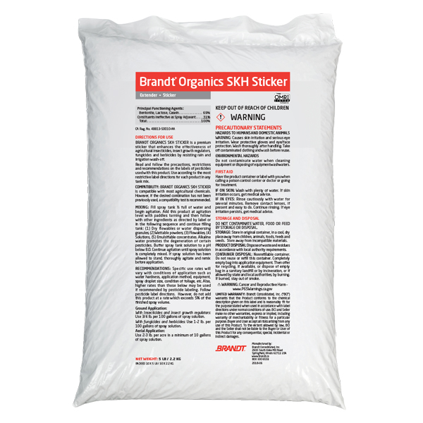 Brandt® Organics SKH Sticker