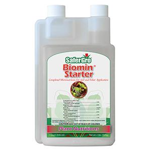 SaferGro® Biomin® Starter, 1-0-0