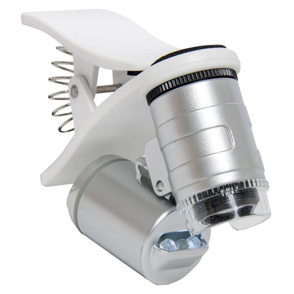 Active Eye 60X Clip-On Phone Microscope