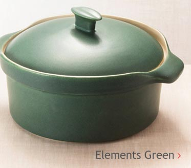Elements Green Pottery Glaze