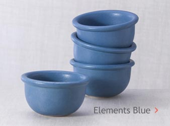 Elements Blue Glazed Stoneware