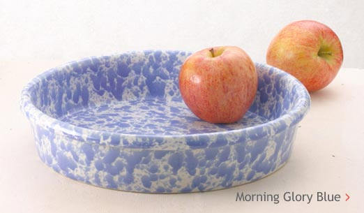 Morning Glory Blue Pottery Glaze