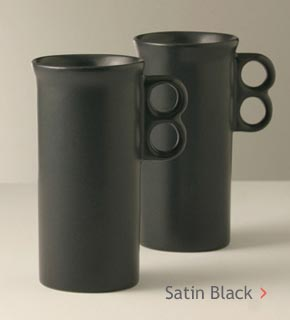 Satin Black Glaze
