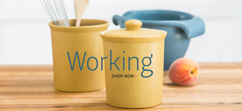 Handmade Stoneware Working Cooksware