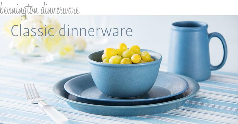 Stoneware Classic Dinnerware Stoneware NewLine Dinnerware & Stoneware Dinnerware | BenningtonPotters.com