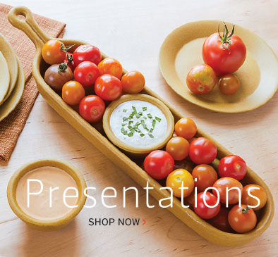 Handmade Stoneware Serving Presentations