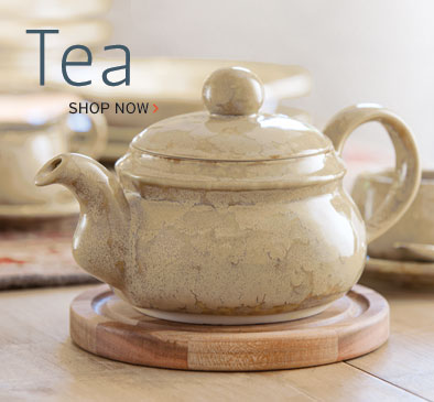 Handmade Stoneware Serving Tea