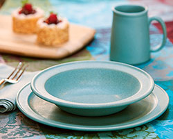 NewLine Dinnerware 3-Piece Place Setting