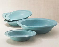 5-Piece Rimmed Serving Bowl Set