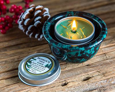 Candle Tin & Crock Set
