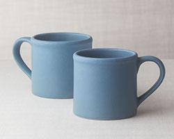 stoneware mugs cups bennington potters