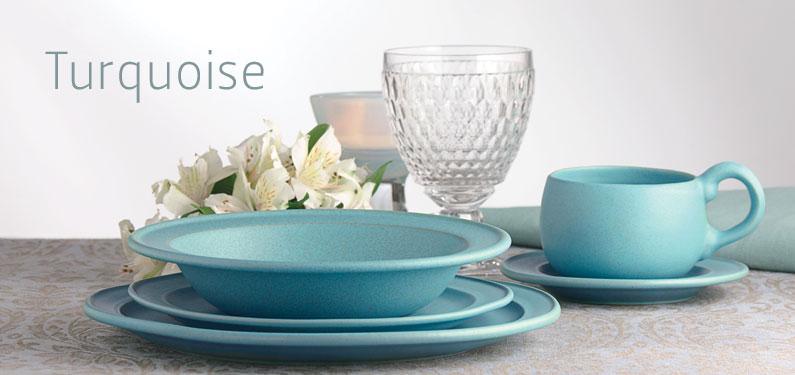 & Turquoise glaze | Stoneware | Bennington Potters