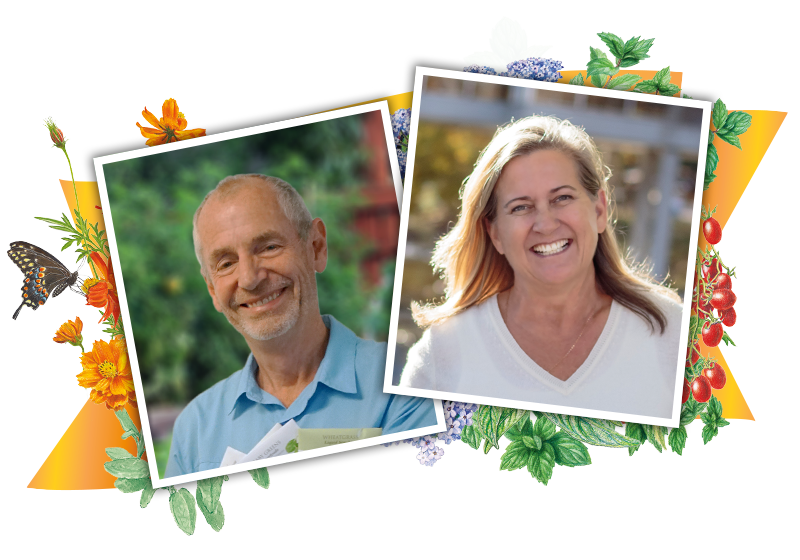 Curtis Jones and Judy Seaborn - Botanical Interests Owners