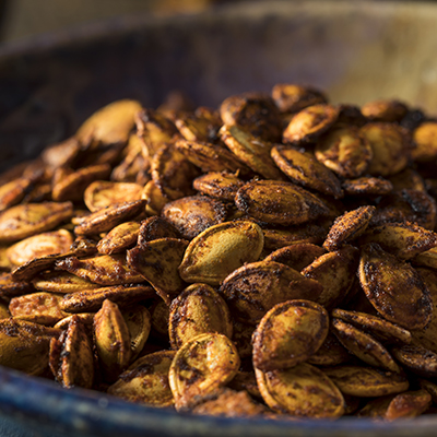 Pumpkin Seeds Two Ways – Sweet and Spicy