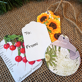 Seed Packet Gift Tags
