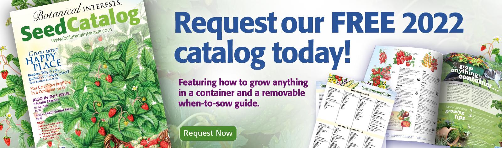 2022 Catalog request