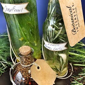 Herb-Infused Vinegar