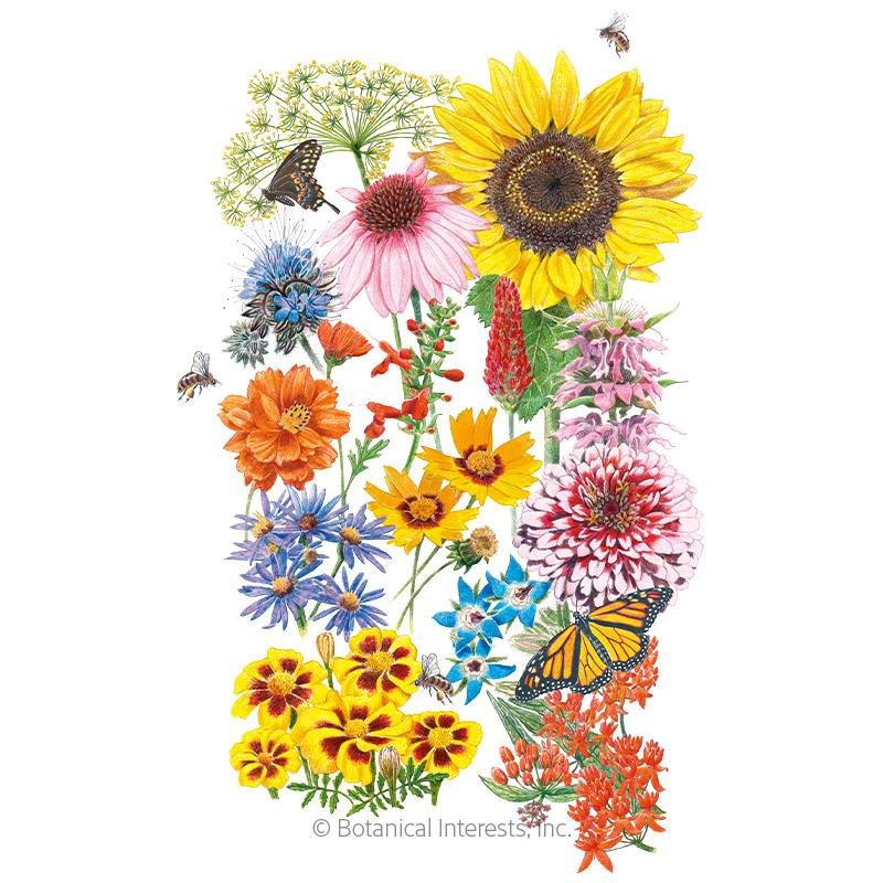 Precious Pollinators Flower Mix Seeds