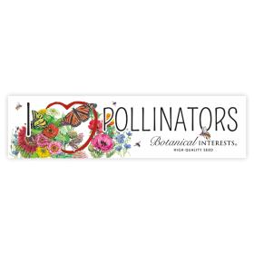 I Love Pollinators Bumper Sticker