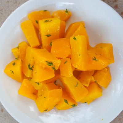Honey and Orange Glazed Rutabaga