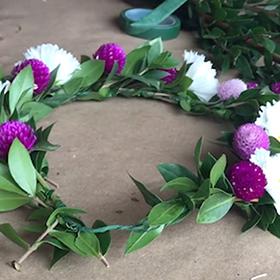 DIY Flower Crown