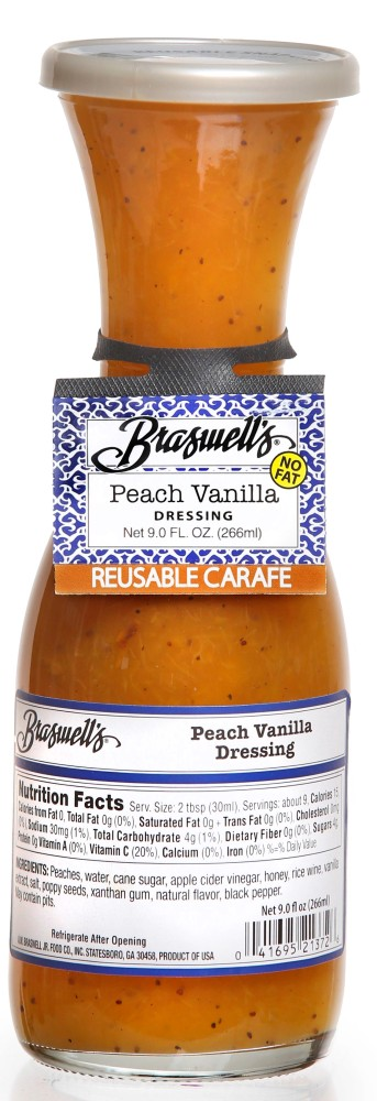 Peach Vanilla Dressing