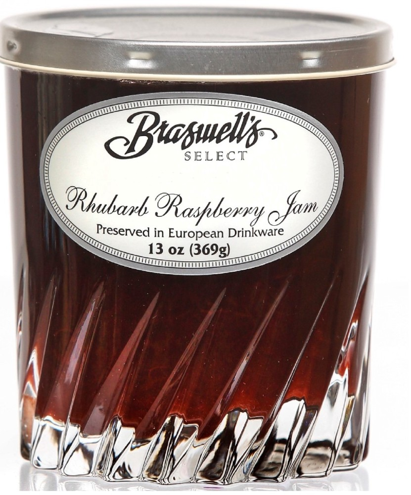 Braswell's Select Rhubarb Raspberry Jam
