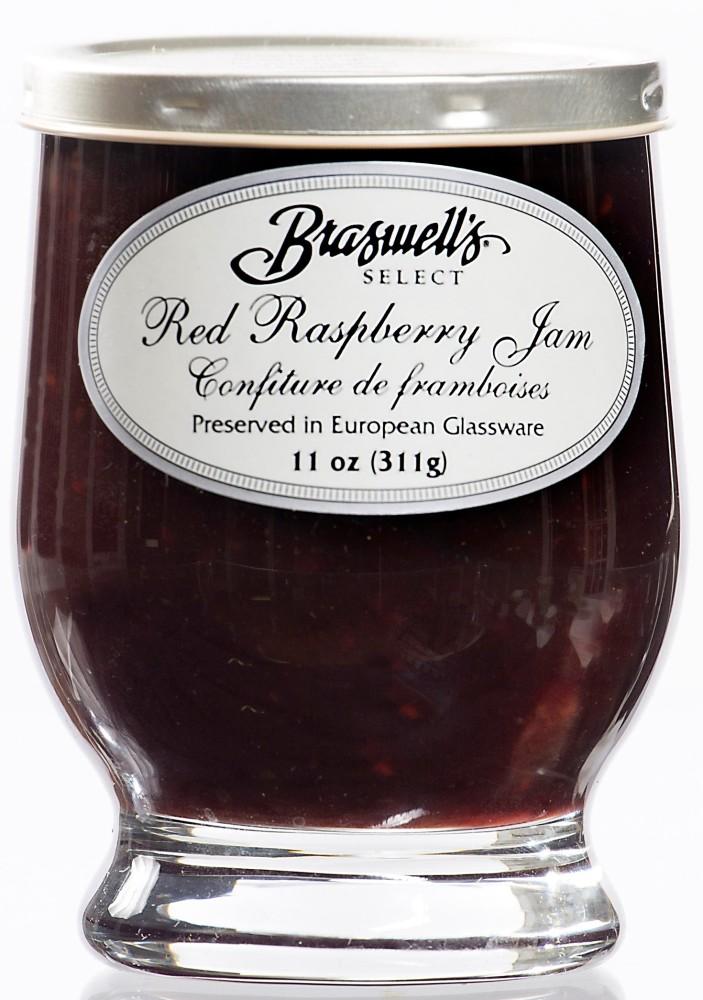 Raspberry Jam - Footed Glassware
