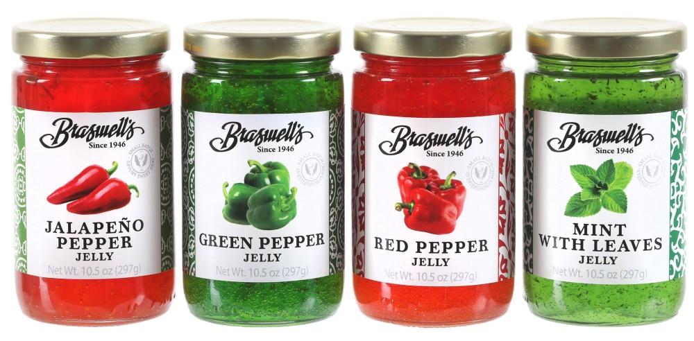 4 Flavor Pepper Jelly  Assortment
