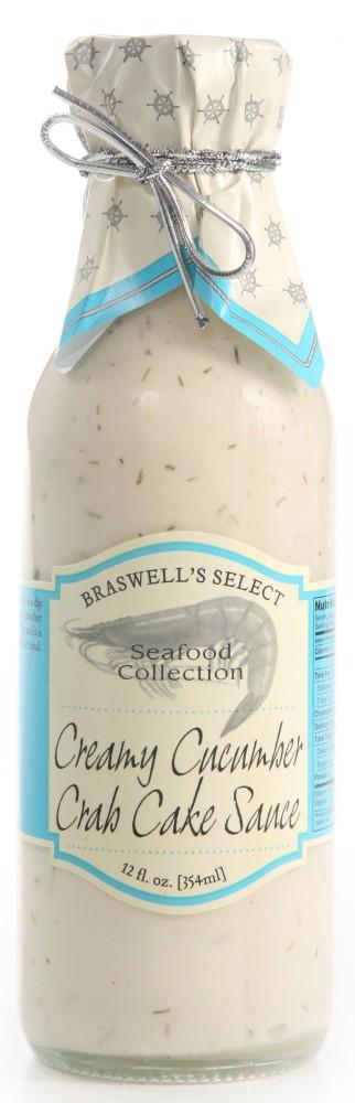 Creamy Cucumber Seafood Sauce
