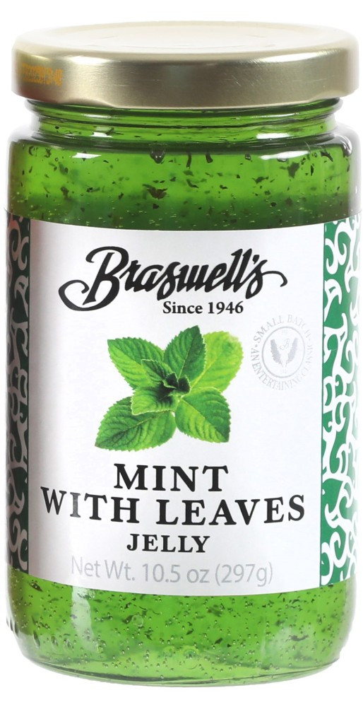 Mint Jelly with Leaves